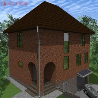 Рабочий проект жилого дома (г. Новгород-Северский)