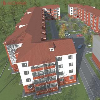 Предпроектные предложения многоквартирных домов