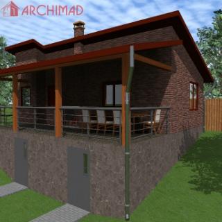 Реконструкция летней кухни (г. Новгород-Северский)