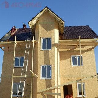Рабочий проект жилого дома (г. Бердычев)