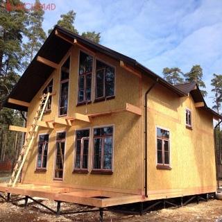 Строительство базы отдыха (г.Буча)
