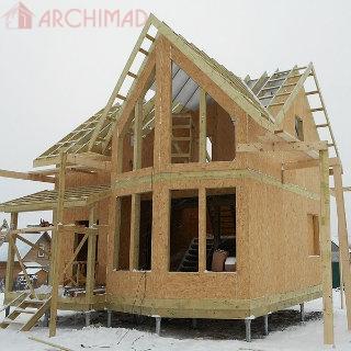 Дом из СИП-панелей (г. Чернигов)