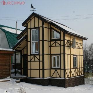 Дом в баварском стиле (с.Глебовка)