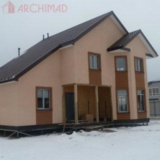 Дом из СИП-панелей  (г. Полтава)