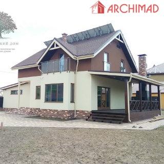 Сборочный чертеж дома из СИП-панелей (г. Запорожье)