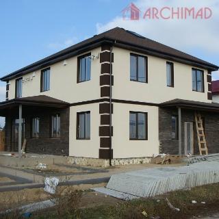 Рабочий проект пассивного дома (Украпнель)