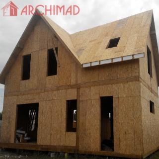 Рабочий проект дома (г. Запорожье)