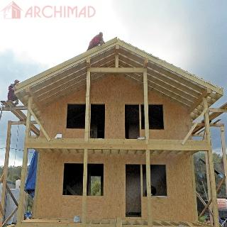 Рабочий проект жилого дома (г. Жашков)